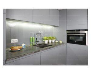 شیشه لاکوبل کریستال وارداتی با رنگ خاکستری