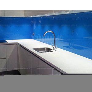شیشه لاکوبل کریستال وارداتی با رنگ آبی نفتی . آبی کاربنی . آبی آسمانی  فیروزه ای