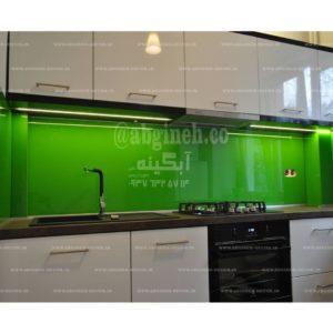 شیشه لاکوبل کریستال وارداتی با رنگ کاهویی و پسته ای و یشمی
